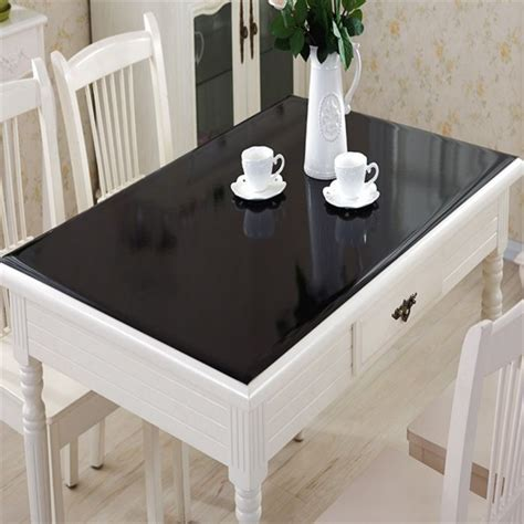 custom glass desk protector glass desk cover as extra protection for beloved furniture
