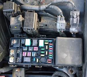Honda Accord 2005 Headlight Relay Location