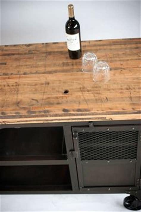 Custom Made Industrial Home Bar Reclaimed Wood, Coffee