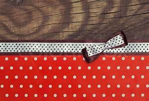 Vintage background with wood, polka dot paper and brown ...