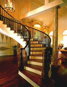20 beautiful stair designs yusrablogcom With interior design for living room with stairs