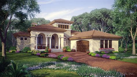 mediterranean house plans and mediterranean designs at builderhouseplans com