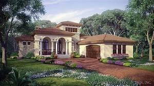 Mediterranean House Plans and Mediterranean Designs at
