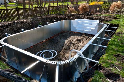 günstige pools zum eingraben pool eingraben 187 das sollten sie bedenken