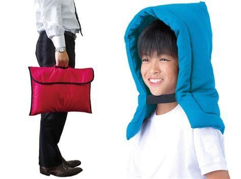 Zukin Earthquake Hood and Cushion Cover   Japan Trend Shop