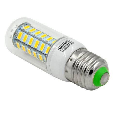 led corn light mengsled mengs 174 e27 5w led corn light 48x 5730 smd leds