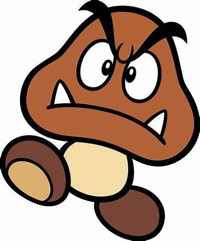 Goomba Svg Nintendo Mario Super Artwork Bros