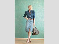 A fashion blog for women over 40 and mature women Denim