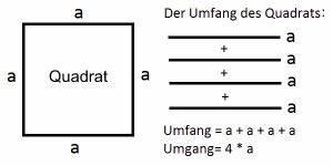 Brüche Online Berechnen : der umfang von quadrat rechteck und parallelogramm ~ Themetempest.com Abrechnung