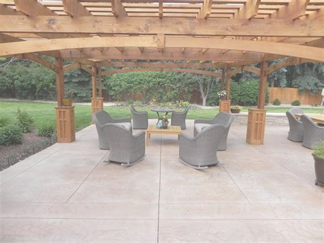 concrete patio cost concrete vs wood house cost ideas house generation