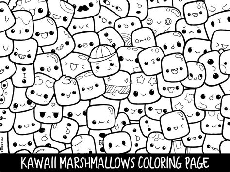 marshmallow coloring pages  getcoloringscom  printable colorings pages  print  color
