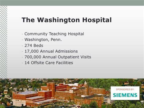 hospital washington clinical operational hie successes economic private inside