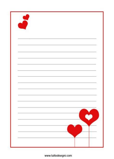 carta lettere san valentino carta da lettera fogli