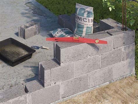 comment monter un mur en parpaing castorama