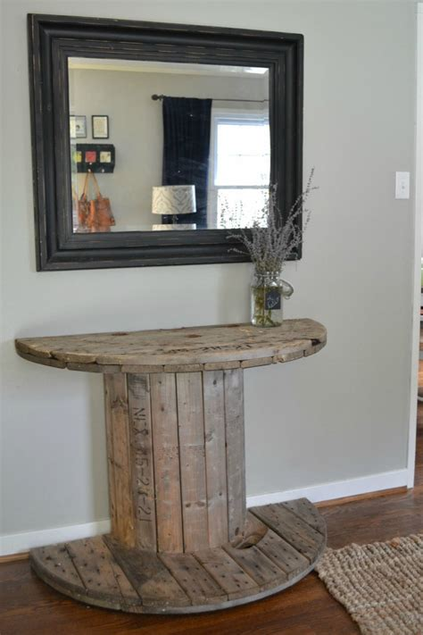 wooden spool ideas  add rustic charm   home