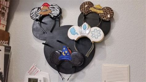 mickey mouse inspired ear display mickey mouse