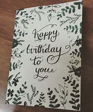 Happy Birthday Card Ideas Drawings