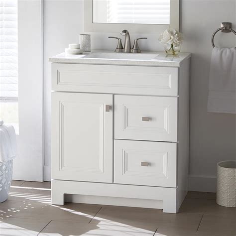 home decorators collection sedgewood     bath vanity  white  solid surface