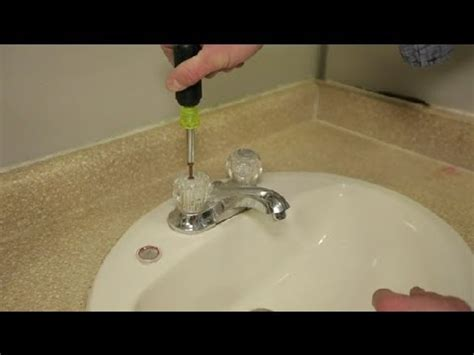 Replace Bathroom Sink Faucet by How Do I Replace Bathroom Sink Faucet Handles Bathroom