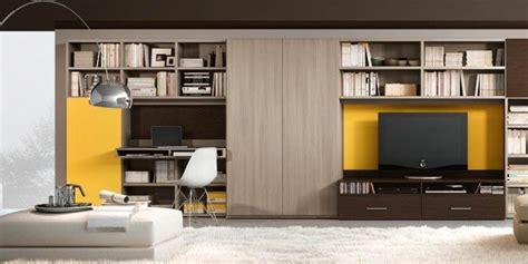 arredamento pareti attrezzate mobile soggiorno 14 soluzioni quot miste quot per arredare il