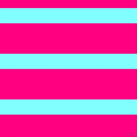 Teal And Fuchsia Pink Horizontal Lines And Stripes