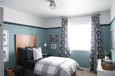Our Teen Boy's Bedroom Is Finished Great Desks Christmas Tree In Living Room Country Home Wall Decor Decorating And Remodeling Show Gray Paint Adult Bed Canopy Free Online Floorplanner Minimalist House Plans
