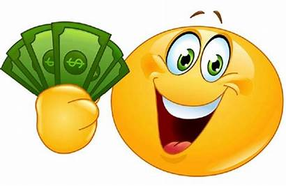 Payday Clipart Bills Dollar Face Smiley Did