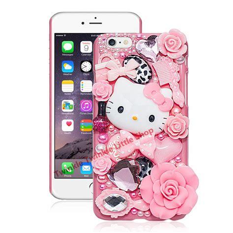 hello kitty iphone hello kitty rhinestone pearl 3d for