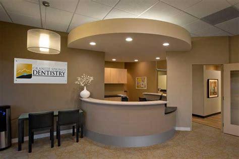 dental office architecture and interior design granite
