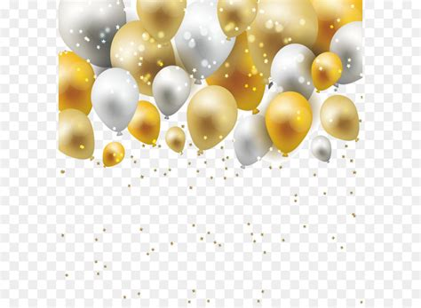 material yellow pattern dream gold  silver balloon