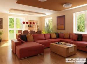 red living room furniture ideas black leather sofa modern