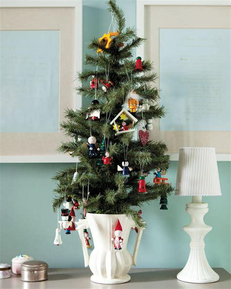 mini christmas trees decoration ideas christmas