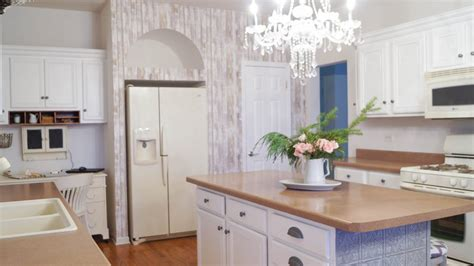 accent wall  simple kitchen updates white lace cottage