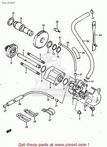 Suzuki Rg125fu 1992  N   E02 E04  Oil Pump