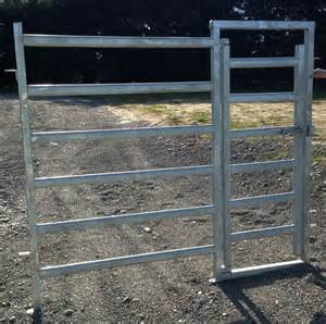 Gates with Cattle Panels
