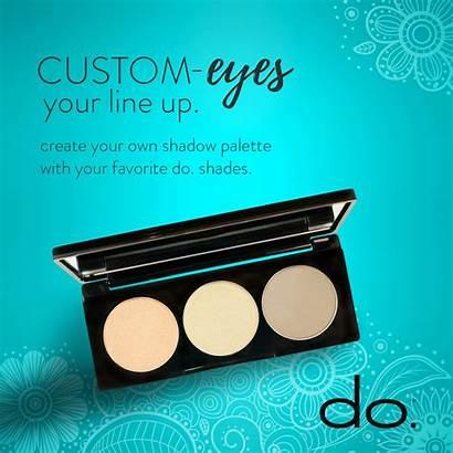 Eyeshadow Palette Lineup Mix Eyes Shadow Shades