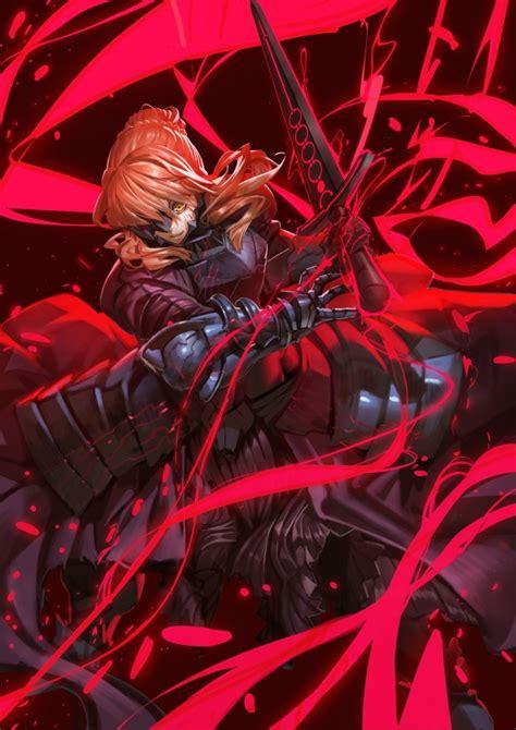 wallpaper saber alter fate grand order sword armor