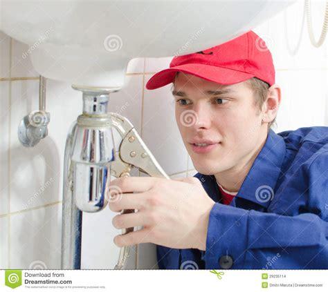 plumber  uniform stock images image