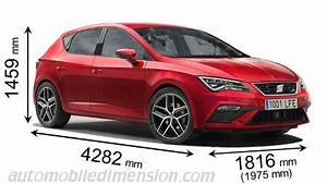 Seat Arona Dimensions : dimensions of seat cars showing length width and height ~ Medecine-chirurgie-esthetiques.com Avis de Voitures