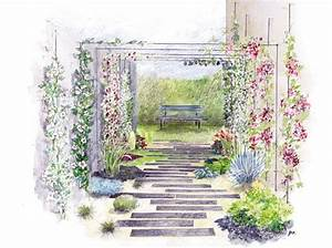 les 25 meilleures idees concernant les plans de conception With amazing comment amenager un jardin tout en longueur 0 amenagement jardin en longueur