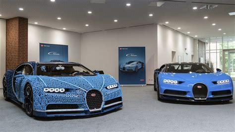 This Lifesize Bugatti Chiron Model Is Made Of 1 Million
