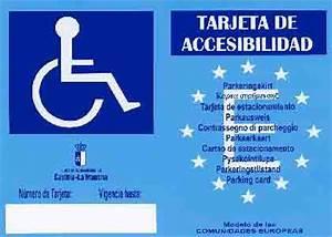 Tarjeta de Accesibilidad en Castilla La Mancha Servicios Sociales en el Área de Villalba de la