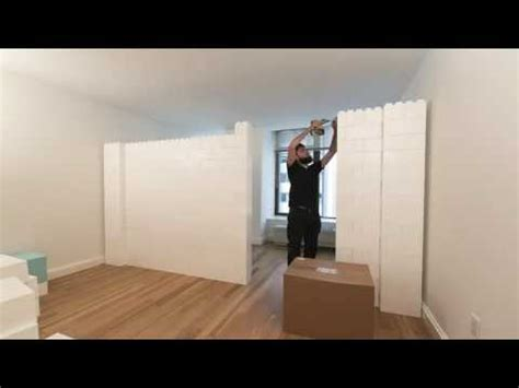 how to turn a small bedroom into a dressing room how to turn a one bedroom into a two bedroom in 20 minutes 21355 | hqdefault