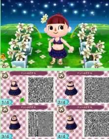 Animal Crossing New Leaf QR Codes Bathing Suits