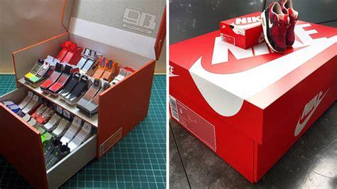 meuble de rangement pour bureau voilà où acheter la boîte à chaussures nike géante pour
