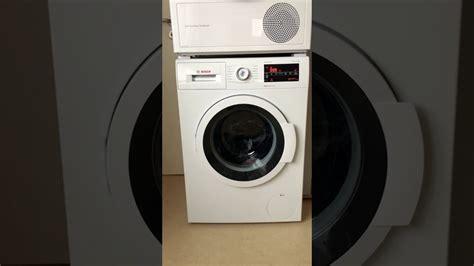 bosch serie 8 waschmaschine bosch waschmaschine wat 28420 varioperfect serie 6 15 min kurzprogramm in voller l 228 nge