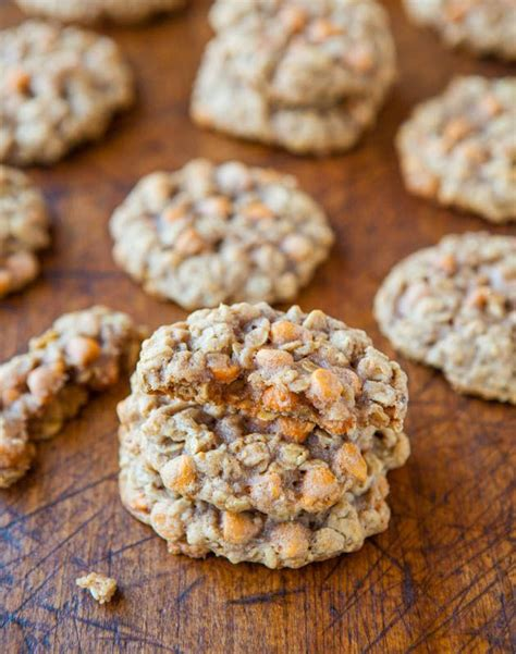 oatmeal butterscotch cookies oatmeal scotchies oatmeal and cookies on pinterest
