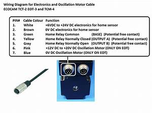 2 Meter Electronics  U0026 Oscillation Motor Cable For Tct
