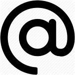 Address Email Icon Symbol Sign Arroba Icons