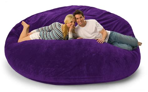 lovesac memory foam chair 8 foot lovesac big one foam bag